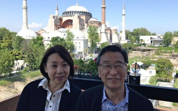 5月に妻のみどりさんとトルコを旅した(イスタンブール)