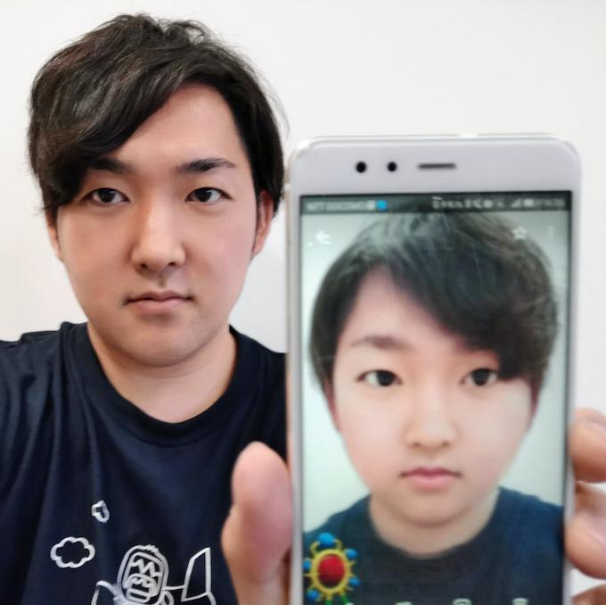 スナップチャット、ARで利用急増 顔写真の男女が転換: 日本経済新聞