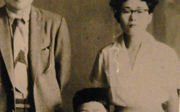父・巌、母・ナミ子と