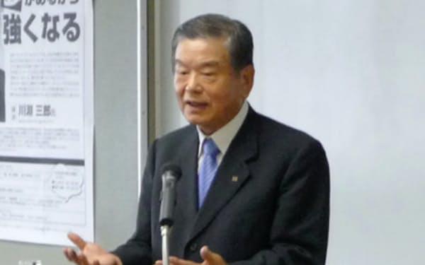 川淵三郎さんにはその後も講演をお願いした