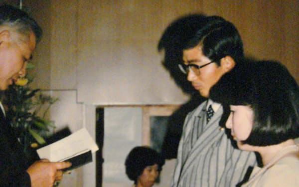 プロ2年目の1977年に結婚
