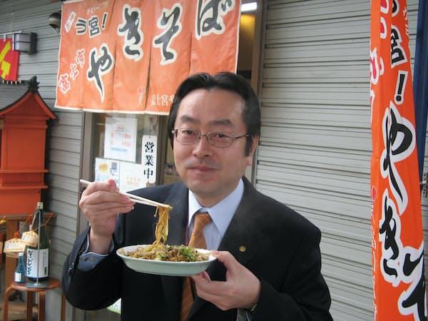 「富士宮やきそば」を全国に広めた渡辺英彦さん