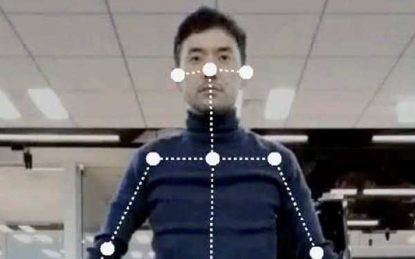 AIが体の状態を9段階で診断してくれる