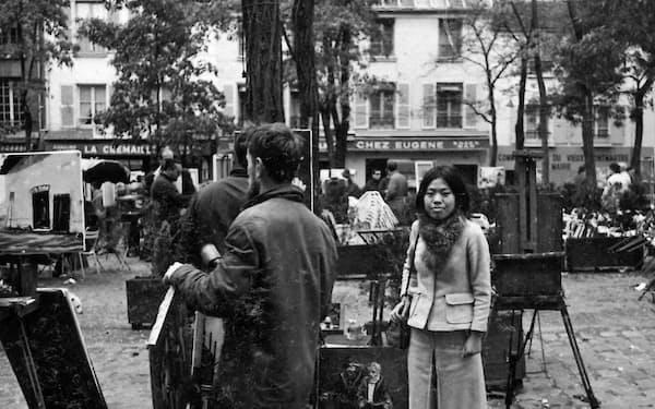 憧れていたパリの街を散策
