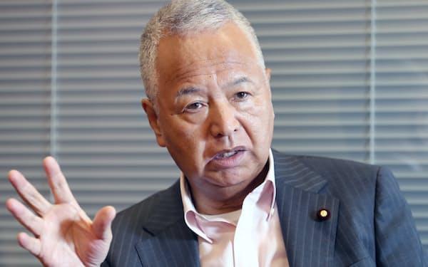 ルール形成戦略議員連盟会長の甘利明氏