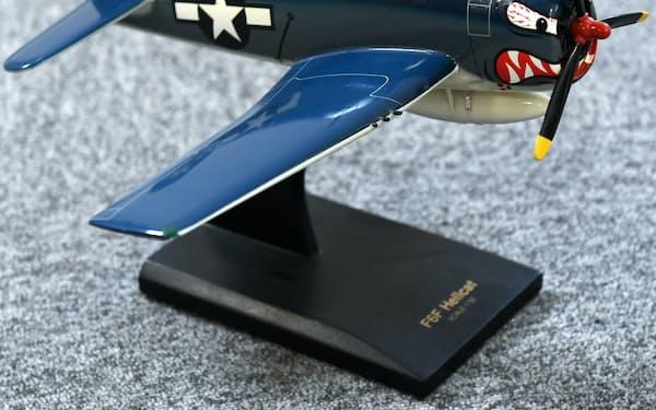 ハワイで購入したグラマン機の模型
