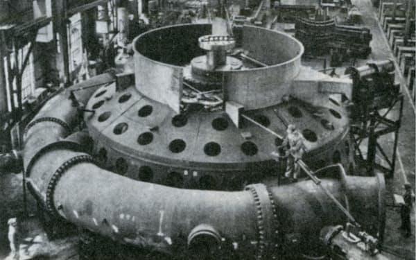 当時主力だった発電機器