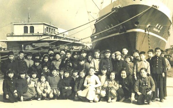 小学校の時、横浜港でよく遊んだ