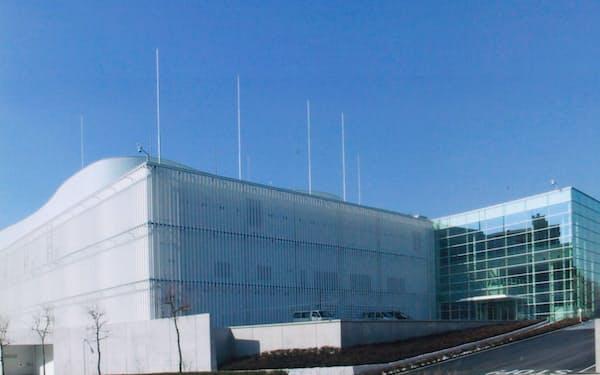 CWCが2003年2月に完成させた横浜のデータセンター