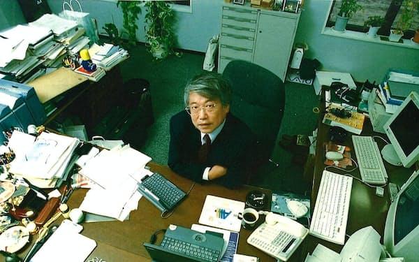 IIJのオフィスで