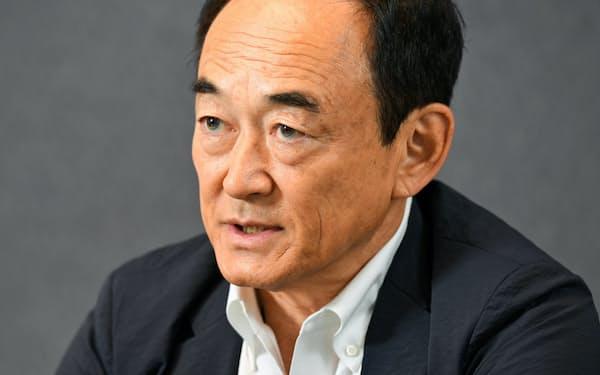 富士通取締役会議長の阿部氏