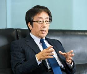 荏原取締役会議長の宇田氏