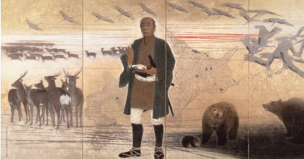 北海道の日本画(4) 岩橋英遠「憂北の人」: 日本経済新聞