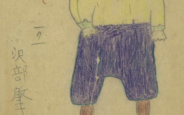 小学1年生のときに書いた弟の絵