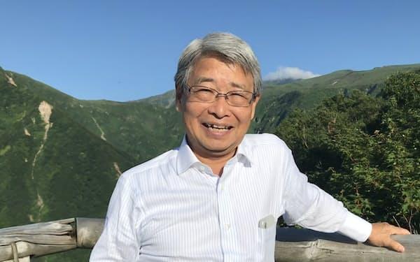 最近の筆者(秋田県の鳥海山で)
