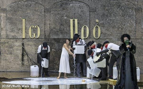 2019年8月に上演されたオペラ「サロメ」(ザルツブルクの劇場フェルゼンライトシューレ)(C)SF/Ruth Walz
