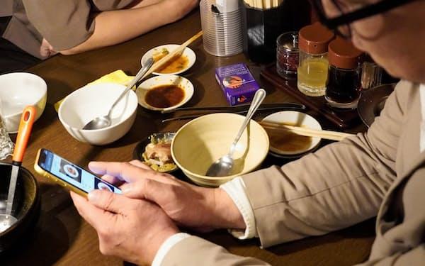 焼肉店の「幸永」西武新宿店ではモバイル注文の利用率が9割超に(東京都新宿区)