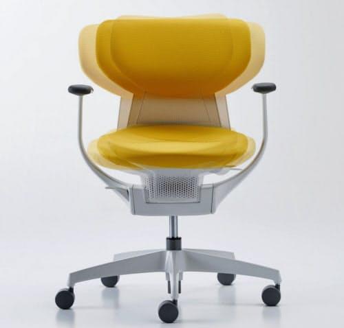 コクヨの「イング」は座面が揺れて首や腰への負担を緩和