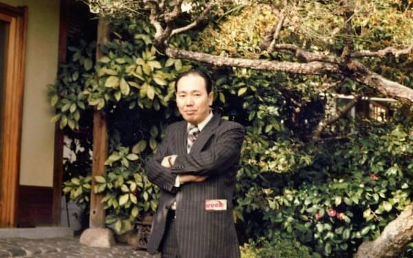 増田氏の自宅を訪ねた際の筆者
