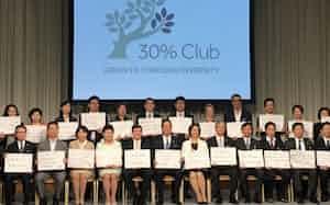女性役員比率の向上を目指す「30%クラブ・ジャパン」