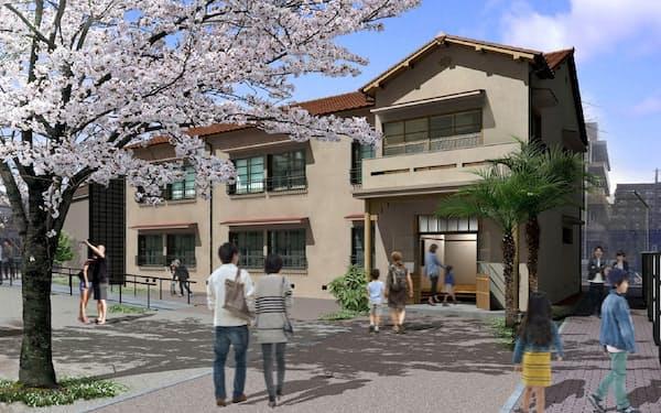 「トキワ荘マンガミュージアム」の完成イメージ=豊島区提供