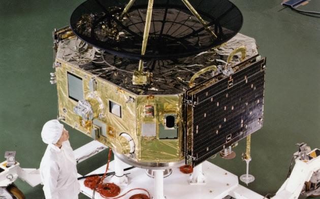 火星探査機「のぞみ」では軌道設計で活躍した=JAXA提供