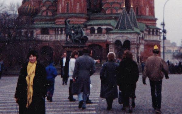 何度も訪れたモスクワの赤の広場で