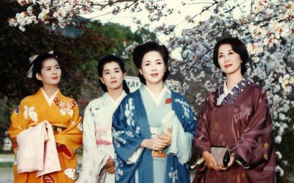 4姉妹の長女役で出演した「細雪」