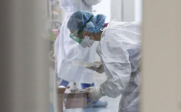緊急度の低い入院が減っている。