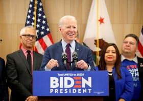 米民主党のバイデン前副大統領は11月の大統領選へ気候変動の踏み込んだ政策綱領を示すとみられている=ロイター