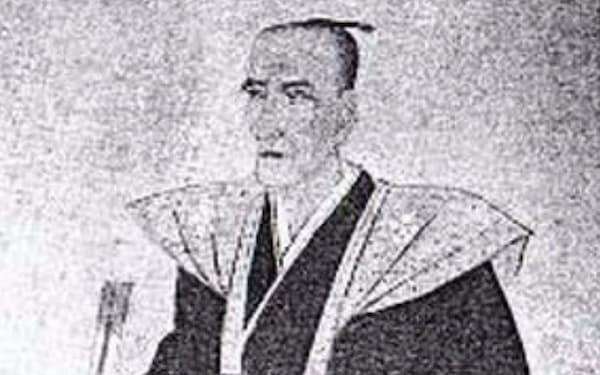菅野白華の肖像(高砂市史より)