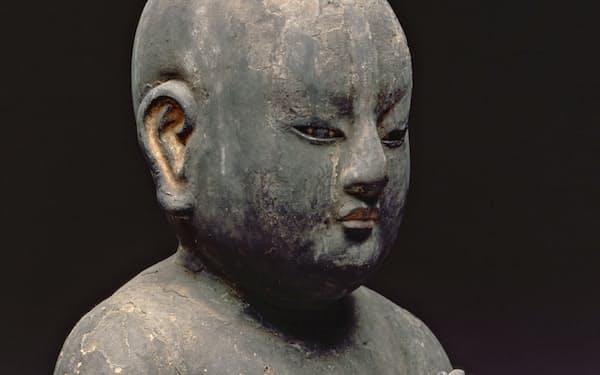 プリンストン大学美術館に納めた聖徳太子二歳像