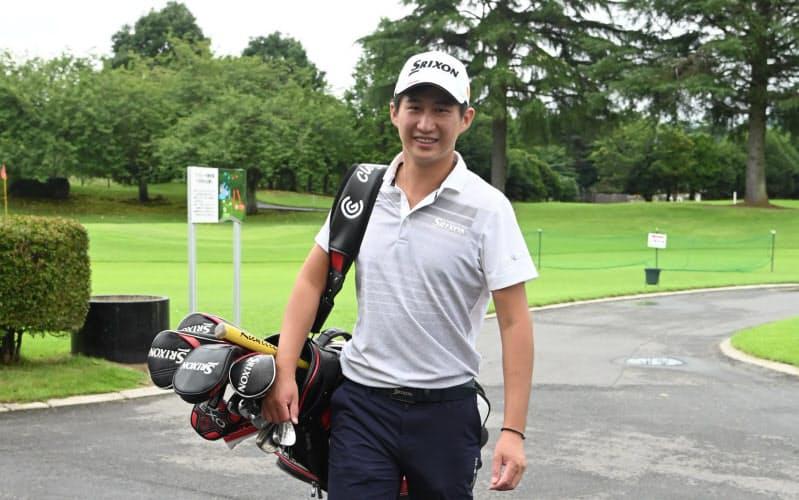 プロの試合で思った結果が出ず、大学でゴルフを続けることに疑問を持った