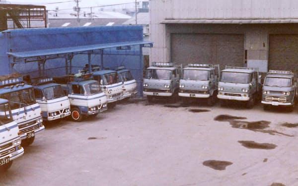 独立後、寺田運輸は保有トラックを増やした