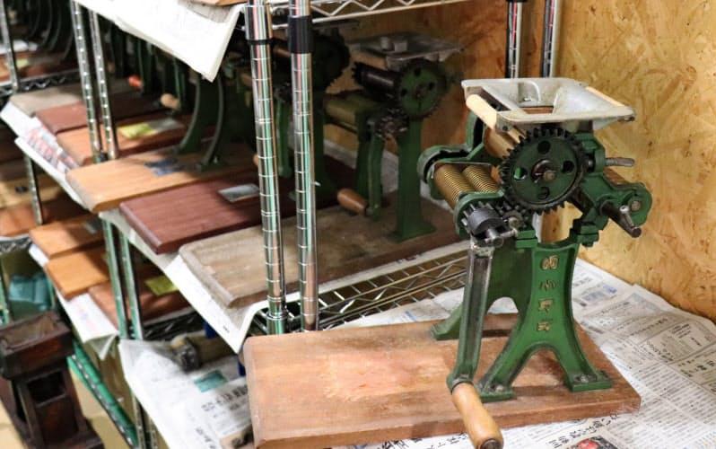 鋳物の家庭用製麺機はメーカーによって少しずつ異なる