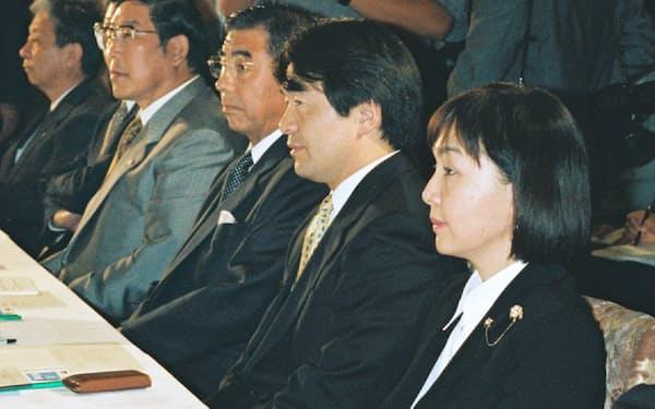 経済戦略会議の初会合に出席