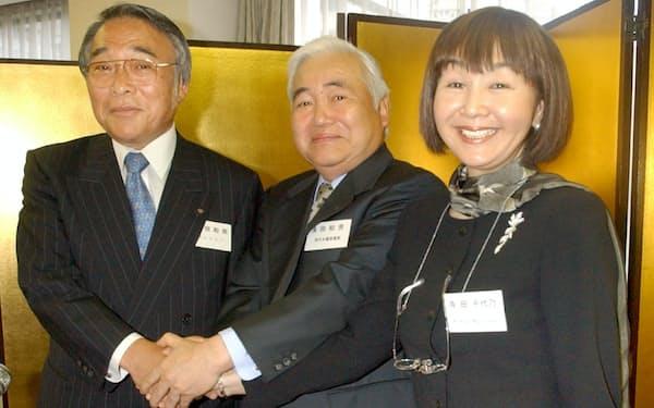 関西経済同友会代表幹事に就任した会見場で