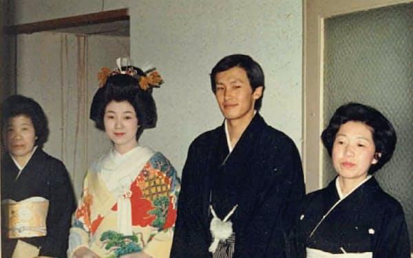 25歳の時、大学時代に知り合った女性と結婚した