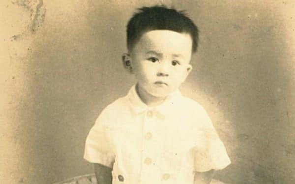 1歳のころの筆者