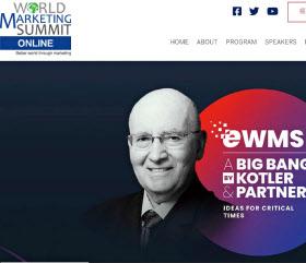 ワールドマーケティングサミットがオンラインで開催された