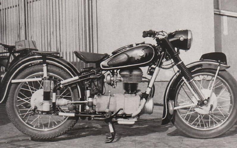 BMW製バイクそっくりの大東精機の「DSK A25」