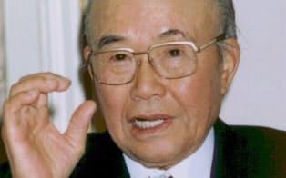 DSK自動車工業の破産後、ホンダ創業者の本田宗一郎さんが食事をおごってくれた(晩年の写真)