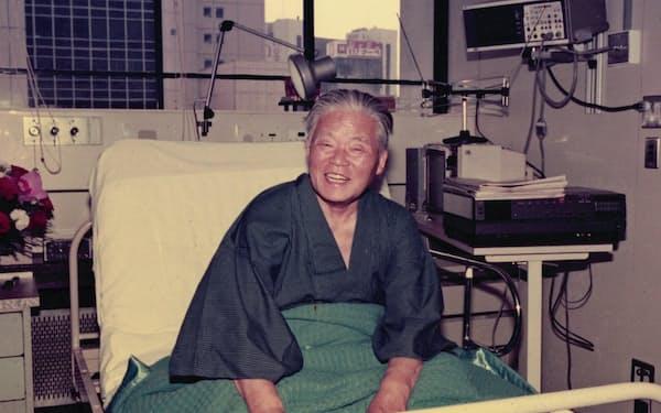 大平首相は入院中、病状が一時回復した