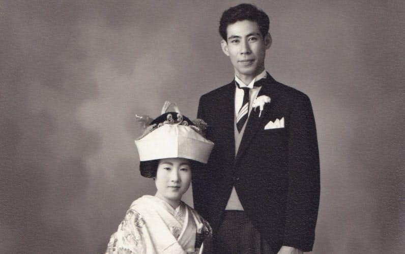 1964年に結婚式を挙げた