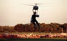柳澤源内氏(16) 米の航空ショーで飛行