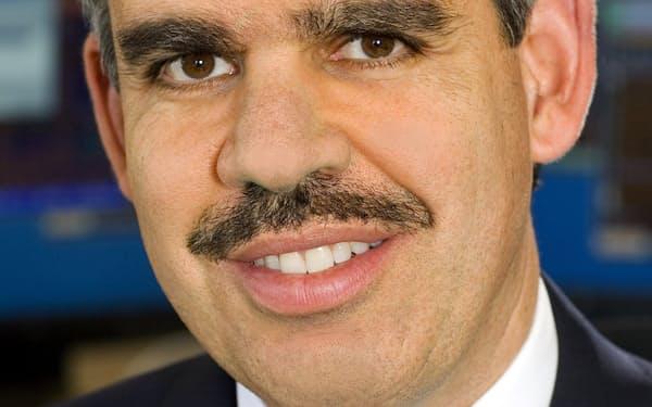 Mohamed A. El-Erian 英オックスフォード大博士。米債券運用大手ピムコの最高経営責任者(CEO)を経て現職。著書「市場の変相」で金融危機を予測。
