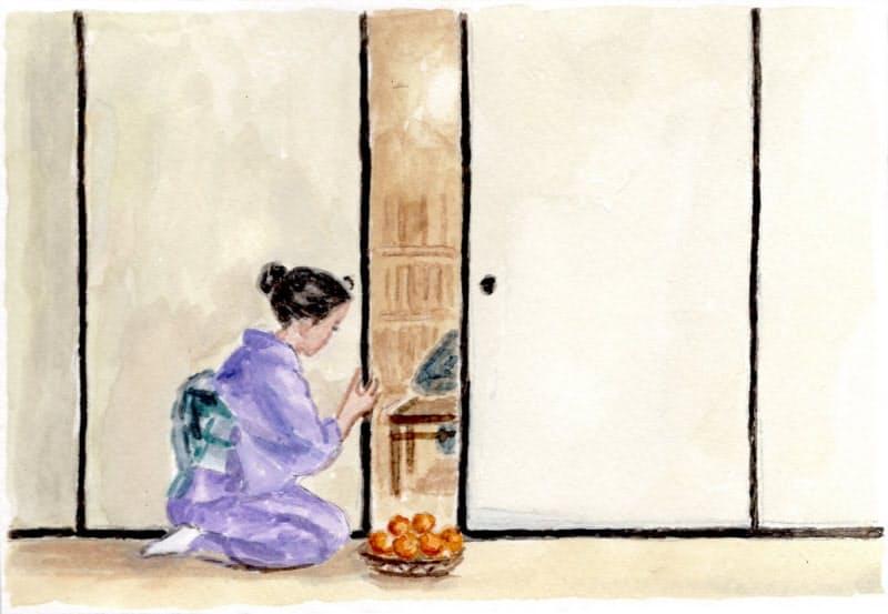 福山小夜 画
