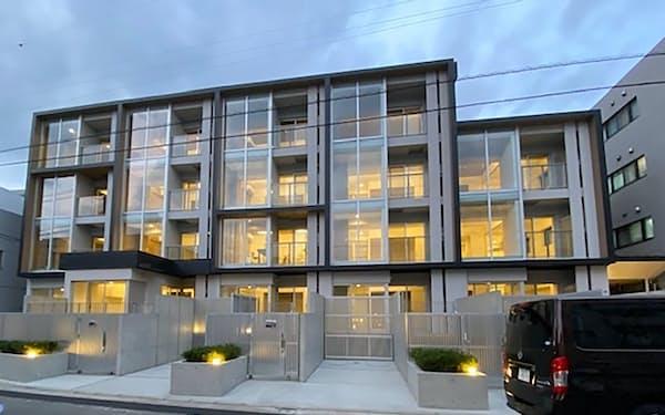 三井不動産と再生した築40年超の賃貸マンション(東京・練馬)