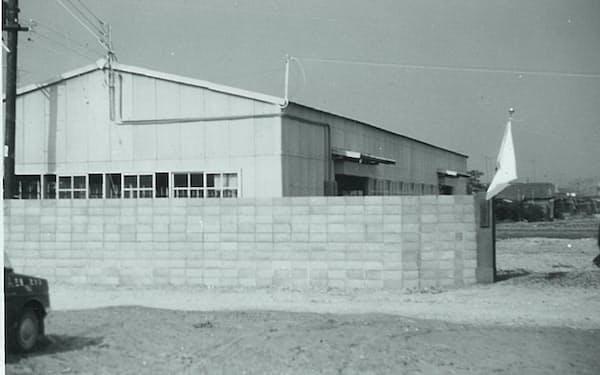 島精機として出直すため手平に開設した本社工場