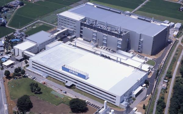中小型液晶パネルを製造していた豊科事業所(長野県安曇野市)